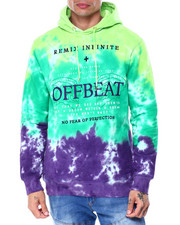 offbeat - REMIX INFINITE TIE DYE HOODIE-2437137