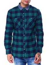 Button-downs - Buffalo Flannel Shirt-2437719