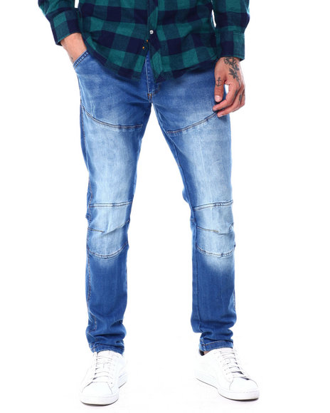 Liberation - Justice Taper Slim Pouch Knee Jean