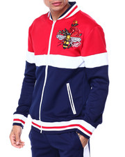 Buyers Picks - Colorblock Embroidered Track Jacket-2437729