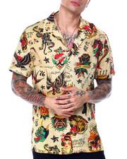 Ed Hardy - Print Camp SS Shirt-2437772