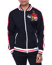 Track Jackets - Embroiderd Track Jacket-2437759