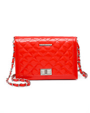 Women - Quilted Patent PU Crossbody-2437373