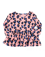 Sizes 2T-4T - Toddler - Tarsa Peplum Top (2T-4T)-2436409