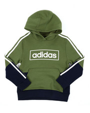 Adidas - Colorblock Pullover Hoodie (8-20)-2438088