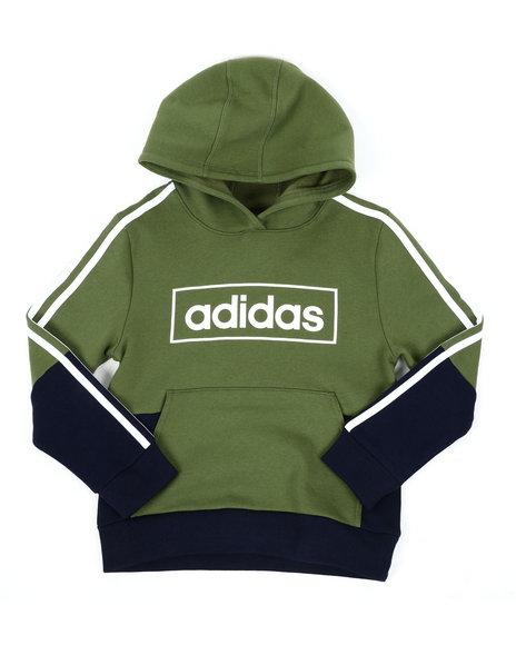 Adidas - Colorblock Pullover Hoodie (8-20)