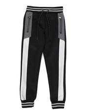 Track Pants - Color Block Herringbone Track Pants (8-18)-2437714