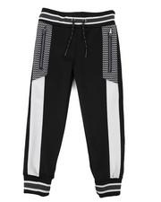 Activewear - Color Block Herringbone Track Pants (4-7)-2437596