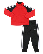 Adidas - Color Block Tricot Track Set (4-7)-2437427