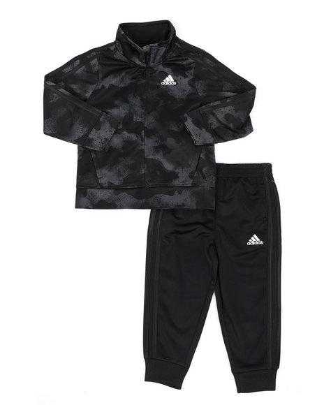 Adidas - Printed Tricot Track Set (2T-4T)