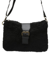 Fashion Lab - Teddy Textured Crossbody-2438233