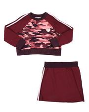 Kensie Girl - Kristin Sweatshirt & Skirt Set (7-16)-2437445