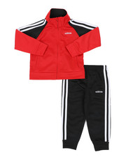 Adidas - Color Block Tricot Track Set (2T-4T)-2437424