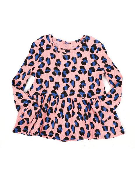 Kensie Girl - Tarsa Peplum Top (4-6X)