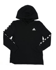 Adidas - Hooded Linear Tee (8-20)-2435782