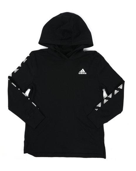 Adidas - Hooded Linear Tee (8-20)