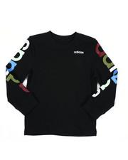 Adidas - Long Sleeve Linear Tee (2T-4T)-2435712