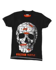 Arcade Styles - Skull Print Tee (8-20)-2437944