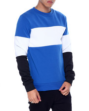 Buyers Picks - colorblock crew sweatshirt-2438358