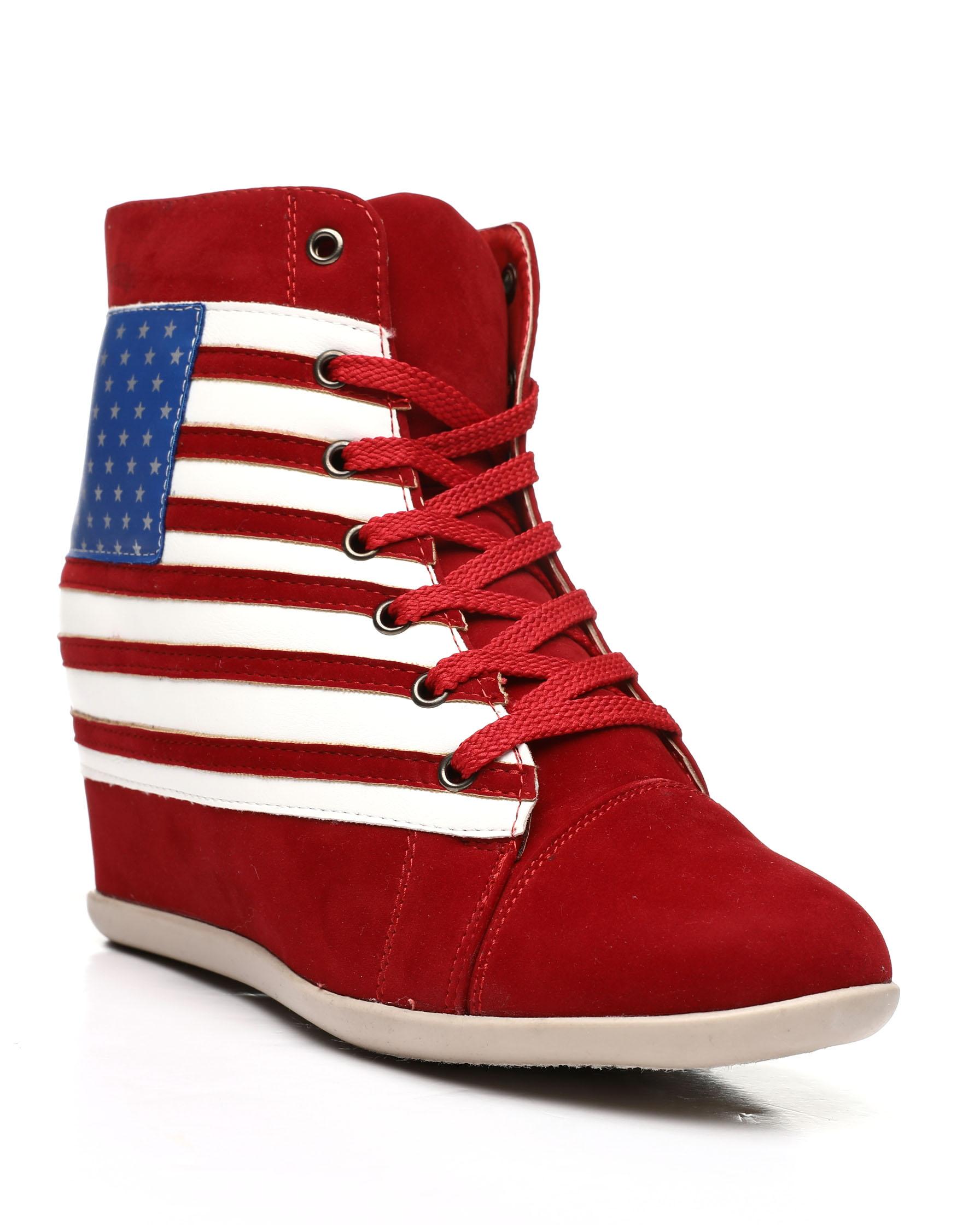 Buy Lady Godiva Wedge Sneakers Women's Footwear from Fashion