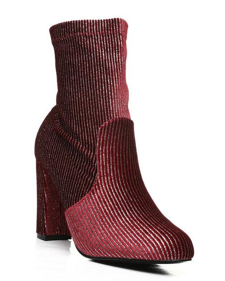 Fashion Lab - Shimmer Slip On Boots
