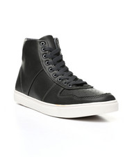 Footwear - High Top Lace Up Sneakers-2438800
