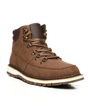 Mens-Winter - Ankle Boots W/ Hooks & Eyelets-2439048