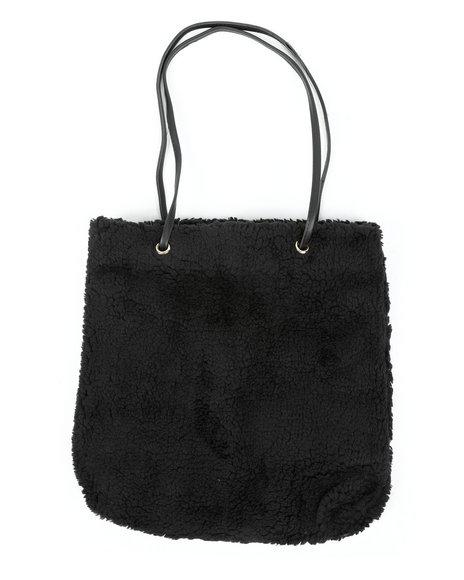 Fashion Lab - Teddy Textured Tote Bag