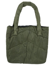 Women - Solid Color Puffer Tote Bag-2439927
