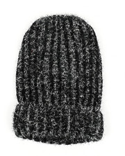 Stocking Stuffers Men - Metallic Knitted Beanie-2438357