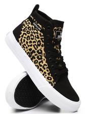 Supra - Stacks Leopard Print Mid Sneakers-2438172