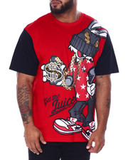 SWITCH - Graphic S/S Tee W/Glossy Gel (B&T)-2440310
