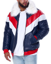 Big & Tall Faves - Tri Color Goose Country Jacket (B&T)-2436561