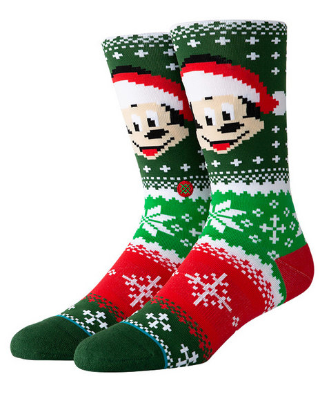 Stance Socks - Stance x Disney Mickey Claus Socks