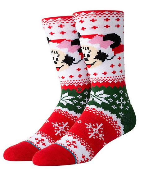 Stance Socks - Stance x Disney Minnie Claus Socks