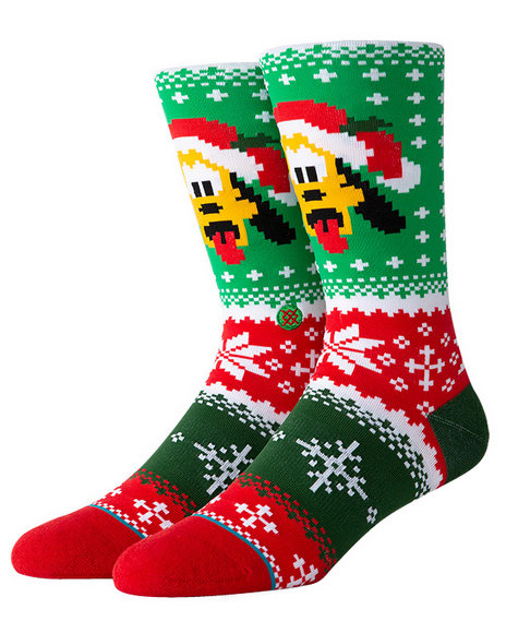 Stance Socks - Stance x Disney Pluto Claus Socks