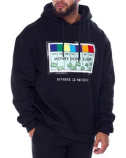 Big & Tall Faves - Money Don't Sleep Hoody (B&T)-2440474
