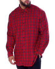 Chaps - Easy Care-Fashion-L/S-Sport Shirt (B&T)-2440430