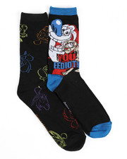 Socks - You Eediot 2 Pack Crew Socks-2436963