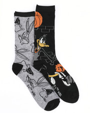 Socks - Daffy Duck 2 Pack Crew Socks-2437076