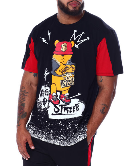 SWITCH - Character Printed Cut Block S/S Tee (B&T)