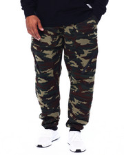 Joggers - Fleece Jogger Zipper Trim (B&T)-2440005