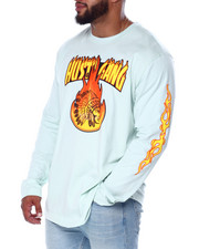 Hustle Gang - That Fire L/S Tee (B&T)-2440318