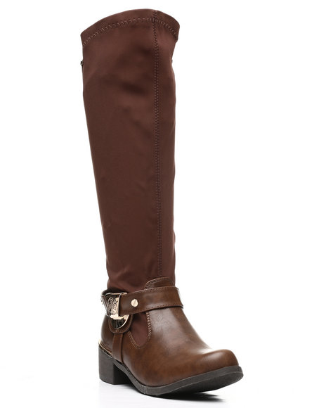 Fashion Lab - Stretchy Riding Boots