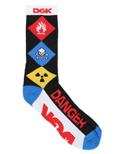 DGK - Hazardous Crew Socks-2441050