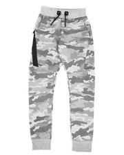 Activewear - Metallic Camo Print Joggers (8-18)-2439944