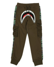 Hudson NYC - Utility Sharks Mouth Jogger Pants (8-18)-2440132