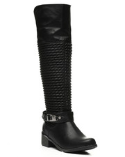 Womens-Winter - Scrunchy Calf Boots-2439006