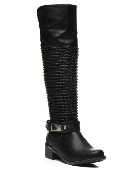 Fashion Lab - Scrunchy Calf Boots