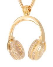 Jewelry & Watches - Snoop Dogg x King Ice Headphones Necklace-2440589